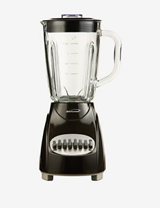 Brentwood Black 12 Speed Blender With Glass Jar