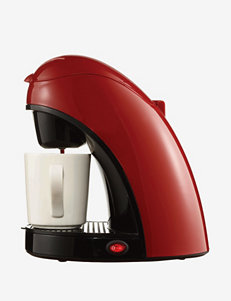 Brentwood Red Coffee, Espresso & Tea Makers Kitchen Appliances