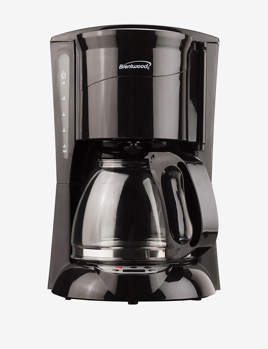 Brentwood Black Coffee, Espresso & Tea Makers Kitchen Appliances