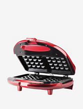 Brentwood Red Waffle Maker