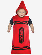 2-pc. Red Crayola® Crayon Bunting Costume – Baby