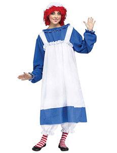 5-pc. Raggedy Ann Costume Set