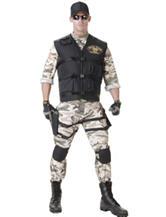 5-pc. SEAL Team Costume Set