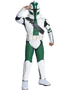 Star Wars The Clone Wars 3-pc. Clone Trooper Commander Costume –Kids