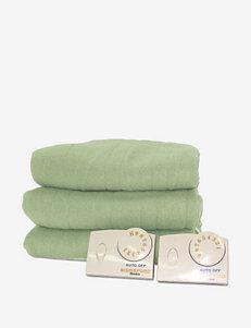 Biddeford Sage Blankets & Throws