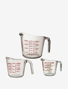 Anchor Hocking 3-pc. Glass Open Handle Measuring Cup Set