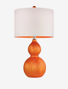 Dimond Orange Table Lamps Lighting & Lamps