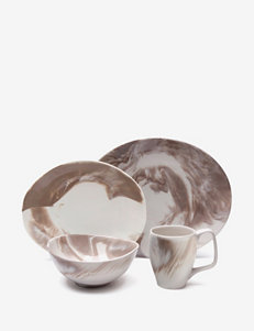 Nambe 4-pc. Butterfly Marble Place Setting Set