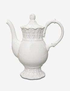 Isaac Mizrahi 2-pc. Chateau Fleur Pedestal Teapot Set