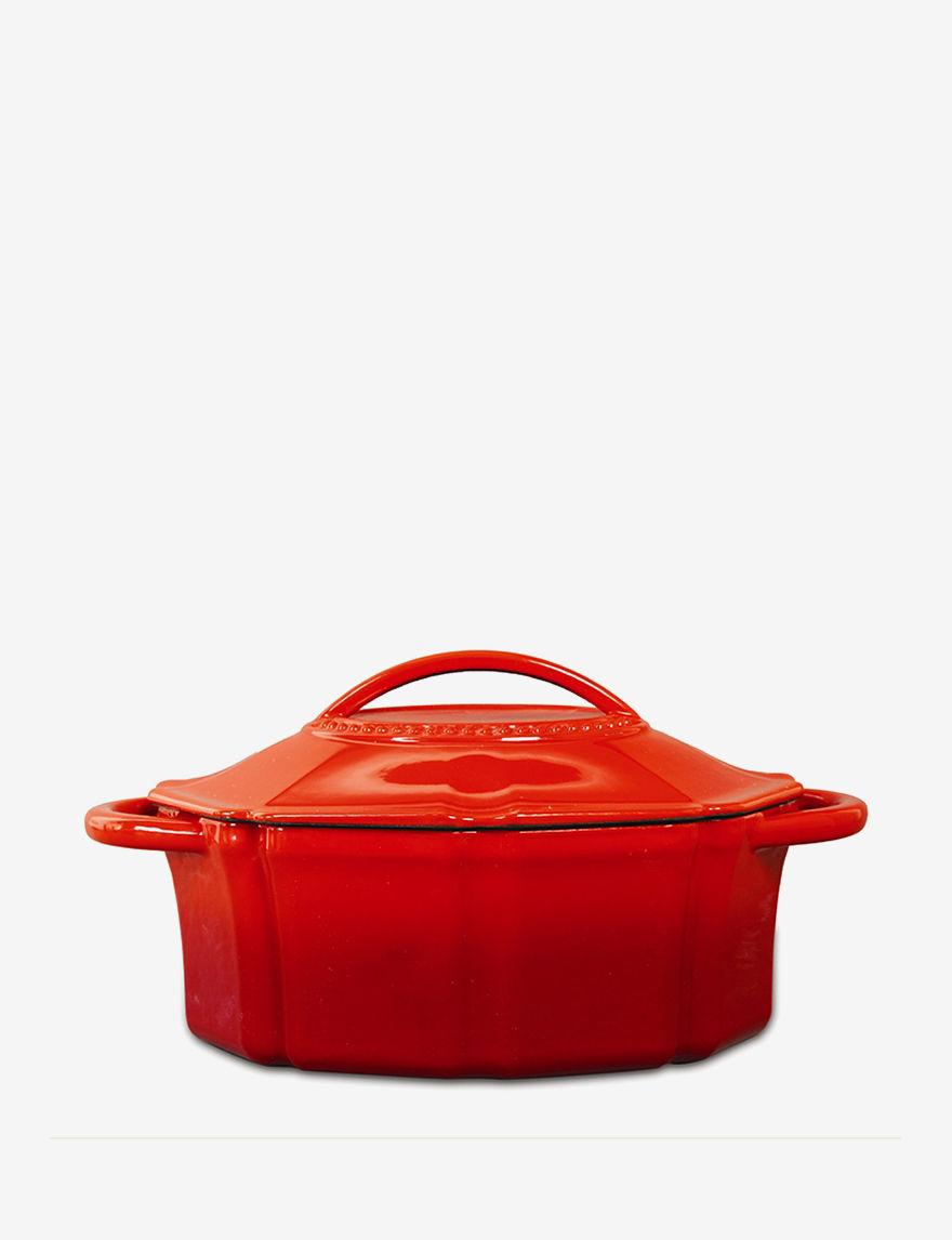 Isaac Mizrahi Red Baking & Casserole Dishes