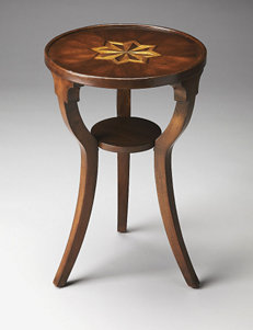 Butler Specialty Company Plantation Cherry Round Accent Table