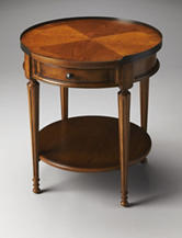 Butler Specialty Co. Olive Ash Burl Accent Table