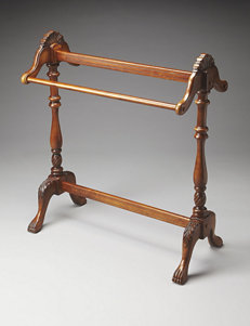 Butler Specialty Company Vintage Oak Blanket Stand