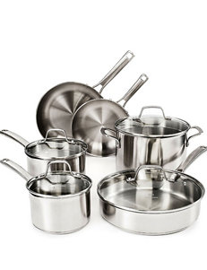 Calphalon Classic Stainless 10-pc. Cookware Set