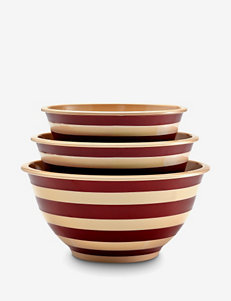 Paula Deen® 3-pc. Striped Mixing Bowl Set