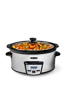 Bella 5-Qt. Stainless Steel Programmable Slow Cooker