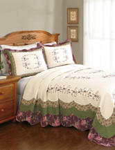 Modern Heirloom Brook Bedspread