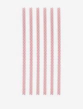 Zak Designs 6-pc. Dot Print Straw Set