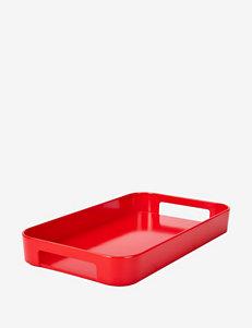 Zak Designs Red Serving Platters & Trays Serveware