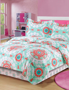Beatrice Home Fashions California Mini Comforter Set