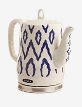 Bella Blue Tribal Print Ceramic Kettle