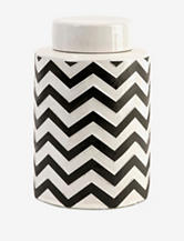 IMAX Chevron Small Canister With Lid