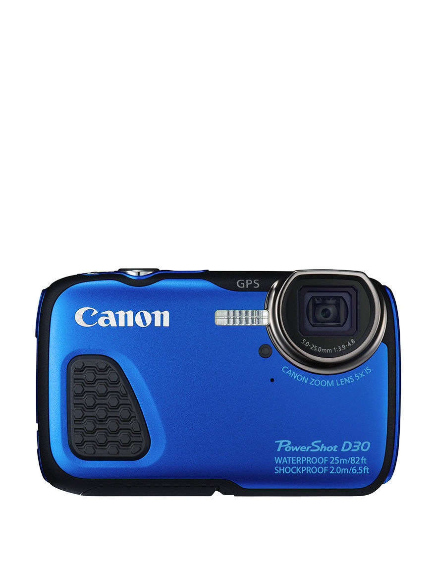Canon Blue Cameras & Camcorders