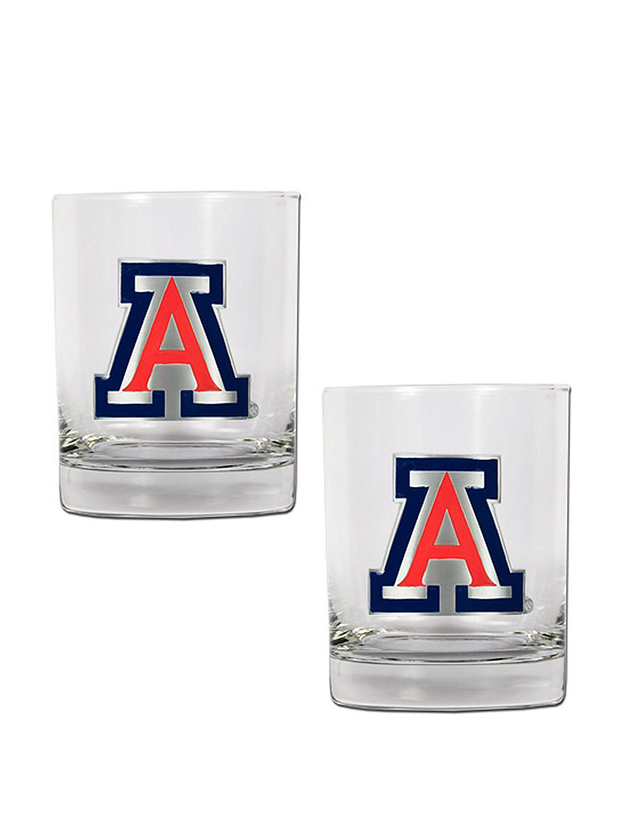 NCAA Clear Cocktail & Liquor Glasses Drinkware Sets Drinkware