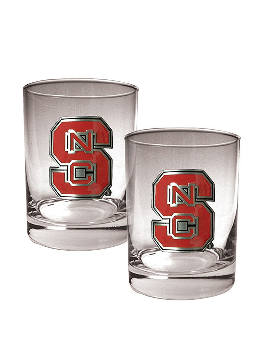 NCAA Clear Cocktail & Liquor Glasses Drinkware Sets Drinkware NCAA