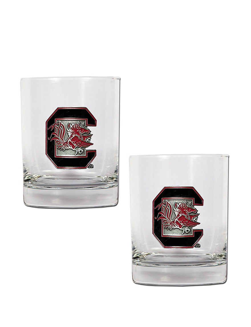 NCAA Clear Cocktail & Liquor Glasses Drinkware Sets Bar Accessories Drinkware NCAA