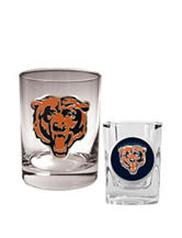 Chicago Bears 2-pc. Rocks & Shot Glass Set