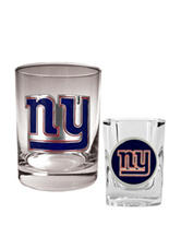 New York Giants 2-pc. Rocks & Shot Glass Set
