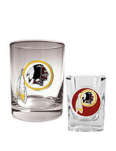 Washington Redskins 2-pc. Rocks & Shot Glass Set