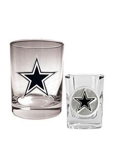 Dallas Cowboys 2-pc. Rocks & Shot Glass Set