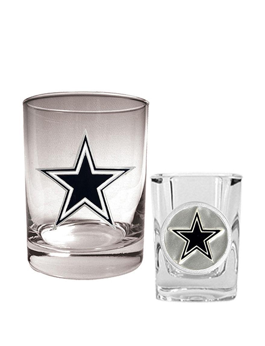 NFL Clear Cocktail & Liquor Glasses Drinkware Sets Bar Accessories Drinkware NFL