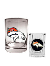 Denver Broncos 2-pc. Rocks & Shot Glass Set
