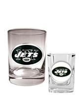 New York Jets 2-pc. Rocks & Shot Glass Set