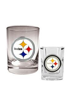 Pittsburgh Steelers 2-pc. Rocks & Shot Glass Set