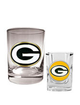 Green Bay Packers 2-pc. Rocks & Shot Glass Set