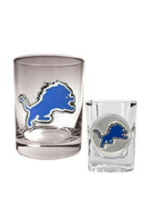 Detroit Lions 2-pc. Rocks & Shot Glass Set
