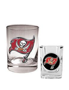 Tampa Bay Buccaneers 2-pc. Rocks & Shot Glass Set