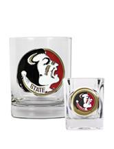 Florida State Seminoles 2-pc. Rocks & Shot Glass Set