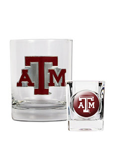 NCAA Clear Drinkware Sets
