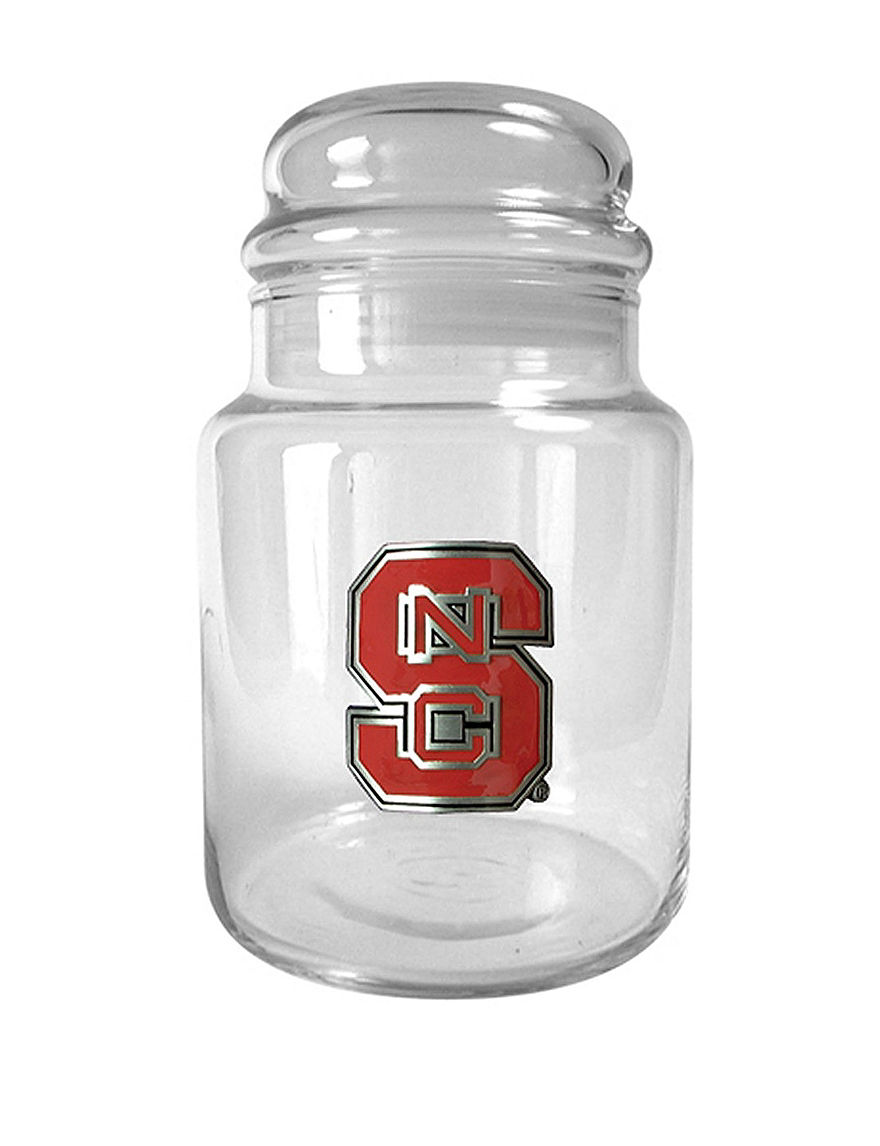 NCAA Clear Trays & Jars Kitchen Storage & Organization NCAA