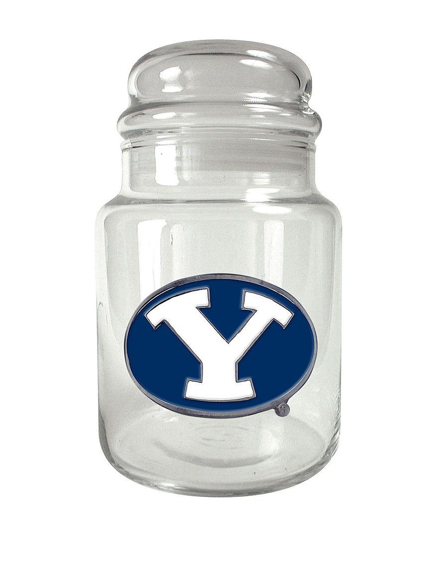 NCAA Clear Trays & Jars