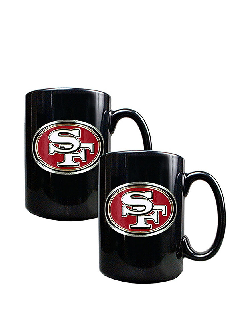 NFL Black Drinkware Sets Mugs Drinkware NFL