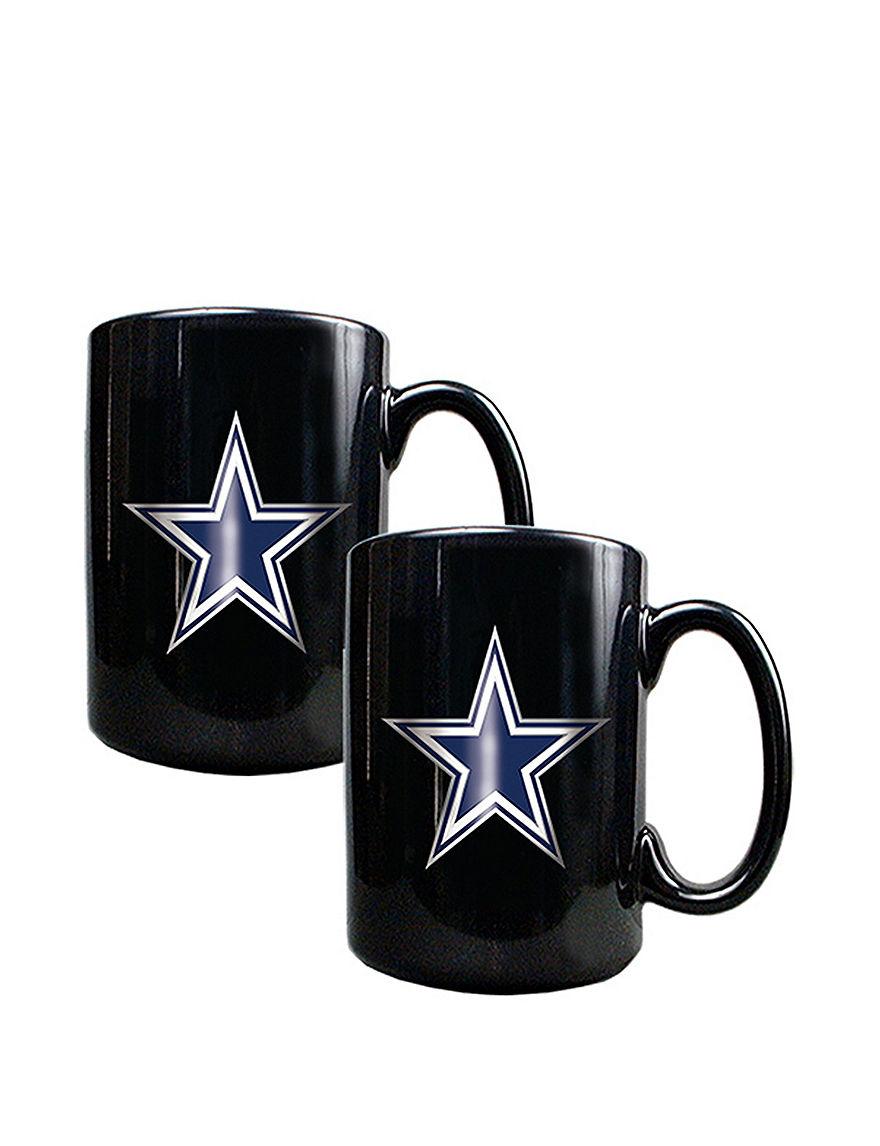 NFL Black Drinkware Sets Mugs Drinkware NFL