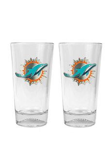 NFL Clear Beer Glasses Drinkware Sets Drinkware NFL