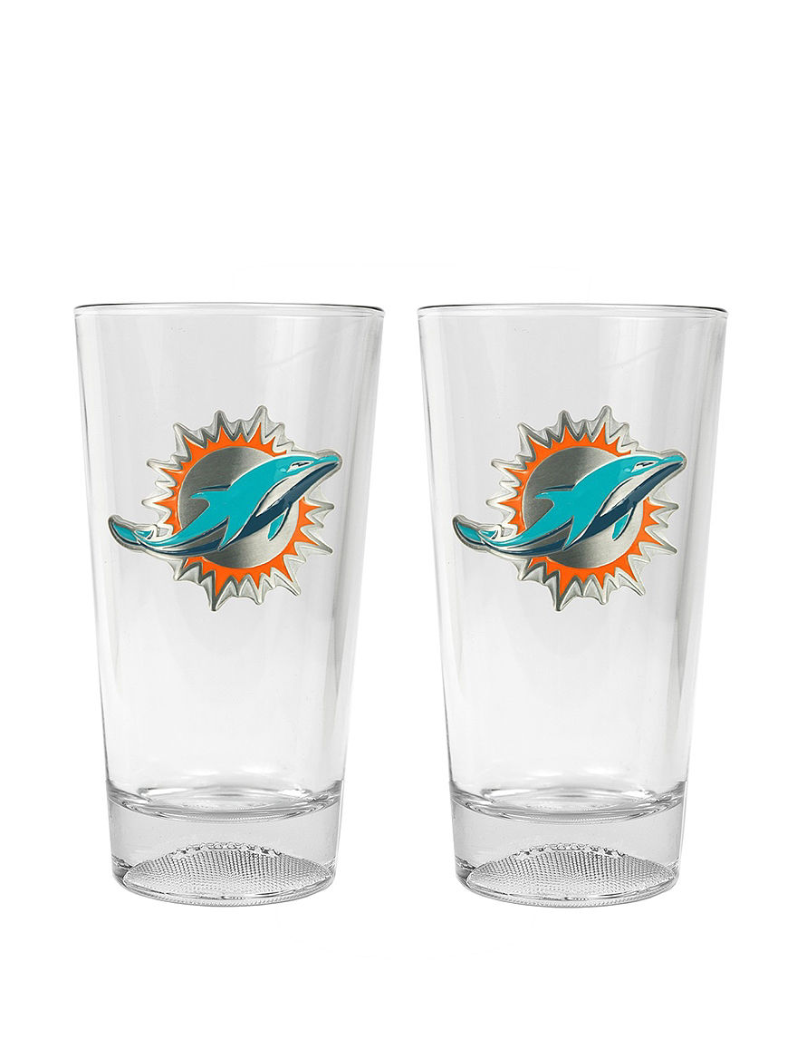 NFL Clear Beer Glasses Drinkware Sets Everyday Cups & Glasses Drinkware NFL