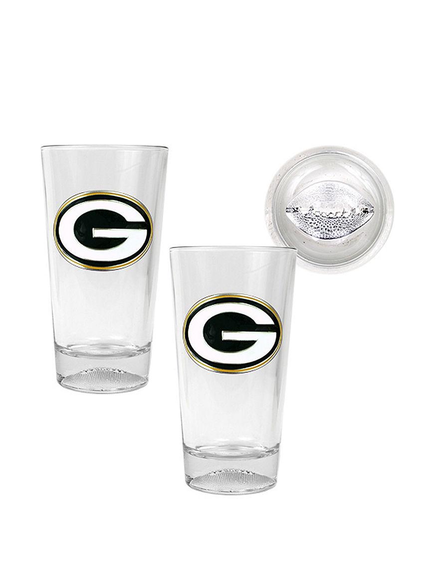 NFL Clear Beer Glasses Drinkware Sets Everyday Cups & Glasses Drinkware NFL